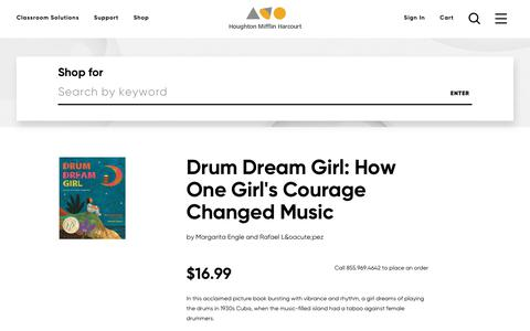 Order Drum Dream Girl: How One Girl's Courage Changed Music, ISBN: 0544102290 | HMH