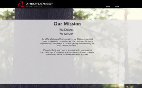 Screenshot of About Page arbutuswest.com - About   Vancouver   Arbutus West Agency Ltd. - captured Oct. 8, 2017