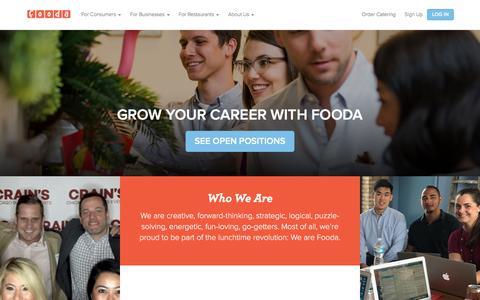 Careers | Fooda