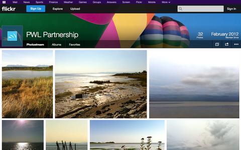 Screenshot of Flickr Page flickr.com - Flickr: PWL Partnership's Photostream - captured Oct. 22, 2014
