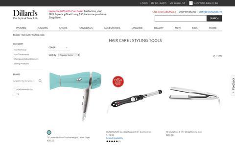 Beauty | Hair Care | Styling Tools | Dillards.com