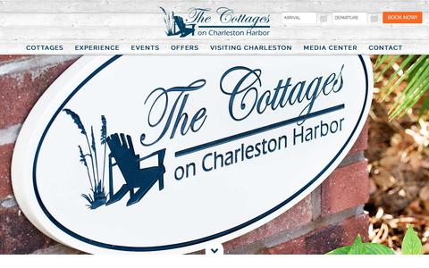 Screenshot of Contact Page Maps & Directions Page thecottagesoncharlestonharbor.com - Contact The Cottages on Charleston Harbor - captured Oct. 10, 2017