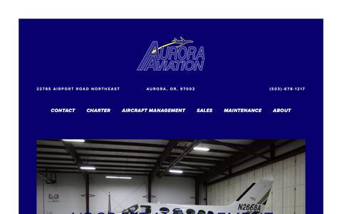 Screenshot of Team Page auroraaviation.com - Aircraft management — Aurora Aviation - captured Oct. 4, 2018