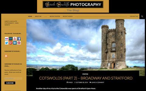Screenshot of Blog gareth-hinchliffe.co.uk - Gareth Hinchliffe Photography …   … The Blog! - captured Jan. 26, 2016