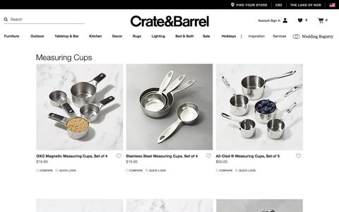 Measuring Cups   Crate and Barrel