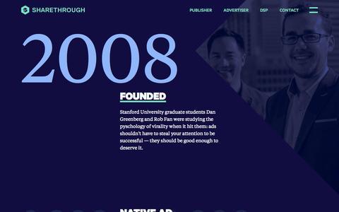 Screenshot of Jobs Page sharethrough.com - Sharethrough - The Leading Native Advertising Company - captured Oct. 1, 2015