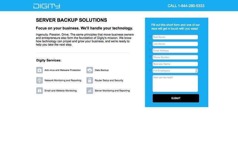 Server Backup Software / Support