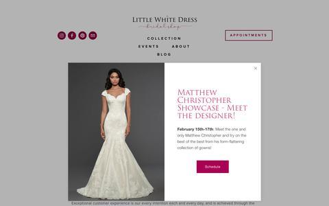 Screenshot of Jobs Page lwdbridal.com - Careers —  Little White Dress Bridal Shop | Denver, Colorado's Best Designer Wedding Dresses and Accessories - captured Feb. 14, 2019