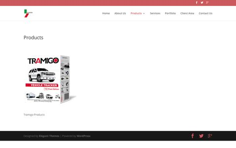 Screenshot of Products Page alhazai.com - Products | Alhazai - captured Feb. 5, 2016