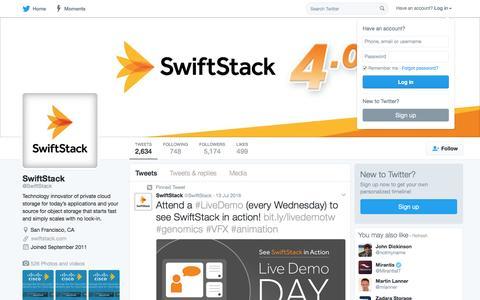 SwiftStack (@SwiftStack) | Twitter