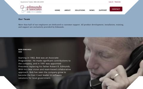 Screenshot of Team Page edmundsassoc.com - Our Team - Edmunds & Associates | Edmunds & Associates - captured July 9, 2017