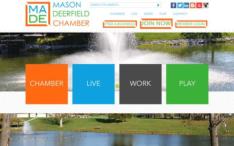 Screenshot of Jobs Page madechamber.org - Job Search - Mason Deerfield Chamber of Commerce | Mason, Ohio - The catalyst organization that ensures the Mason Deerfield area is a vibrant place to visit, live, and do business. - captured June 28, 2016