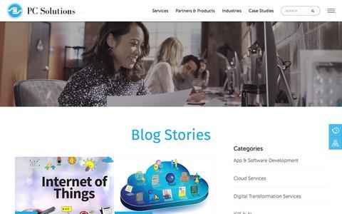 Screenshot of Blog e-pspl.com - Blog - captured Sept. 24, 2018