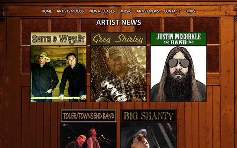 Screenshot of Press Page garagedoorrecords.com - Garage Door Records - captured July 19, 2015