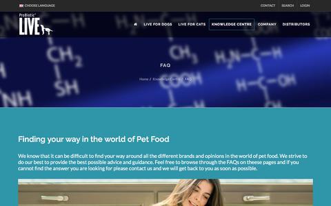 Screenshot of FAQ Page bacterfield.com - Bacterfield - FAQ - captured Aug. 1, 2018