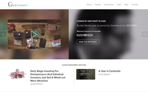 Greycroft Partners: Venture capital and technology investments