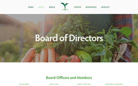 Screenshot of Jobs Page croplifeamerica.org - Board of Directors — CropLife America - captured Jan. 16, 2018