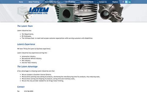 Screenshot of Team Page latem.com - Our-Team - Latem Industries - captured Oct. 26, 2016
