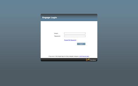Screenshot of Login Page vertafore.com - Username / Password Sign In - captured Nov. 5, 2017