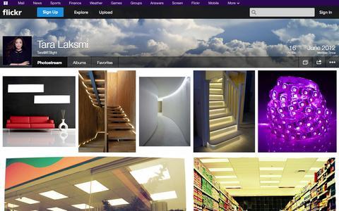 Screenshot of Flickr Page flickr.com - Flickr: Tara@IESlight's Photostream - captured Oct. 23, 2014