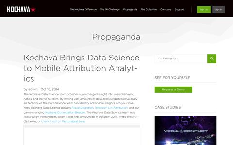 Kochava Brings Data Science to Mobile Attribution Analytics
