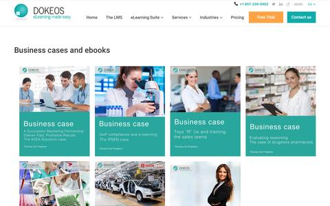 Business cases and ebooks -