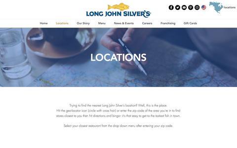 Screenshot of Locations Page ljsilvers.com - ljsilvers | Locations - captured Jan. 25, 2018