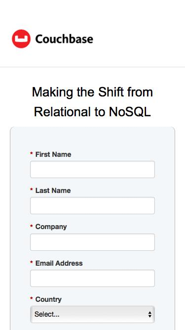Making the Shift from Relational to NoSQL