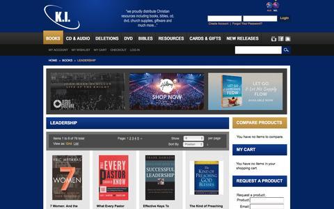 Screenshot of Team Page kientertainment.co.nz - KI Entertainment NZ -  Leadership - Books - captured March 6, 2016