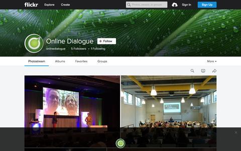 Screenshot of Flickr Page flickr.com - Online Dialogue   Flickr - Photo Sharing! - captured Nov. 23, 2015