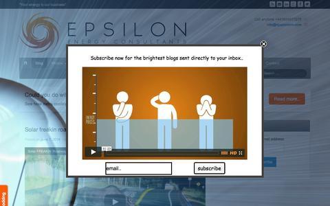 Screenshot of Blog epsiloniom.com - Epsilon blog page - captured Oct. 1, 2014