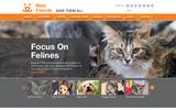 Old Screenshot Best Friends Animal Society Home Page