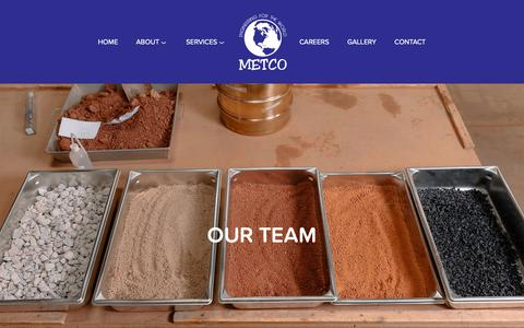 Screenshot of Team Page metco.us - Our Team — METCO - captured Oct. 18, 2018