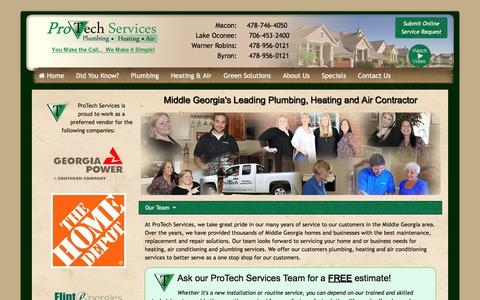 Georgia Plumbing and HVAC Services | Macon | Warner Robins |Lake Oconee