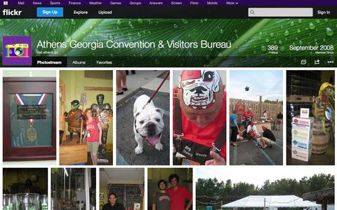 Screenshot of Flickr Page flickr.com - Flickr: visit athens ga's Photostream - captured Oct. 22, 2014