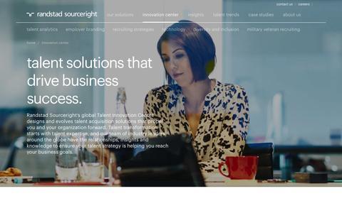 Global Talent Innovation Center | Randstad Sourceright