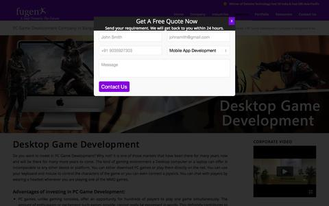 Desktop PC Game Development Company Bangalore India | Hire PC Game Developers Bangalore