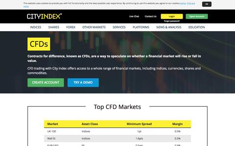 CFD Trading | Trade Over 11,000 CFDs Online | City Index