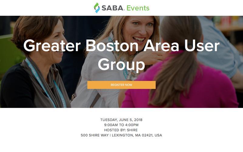 Saba Regional User Group | Greater Boston Area