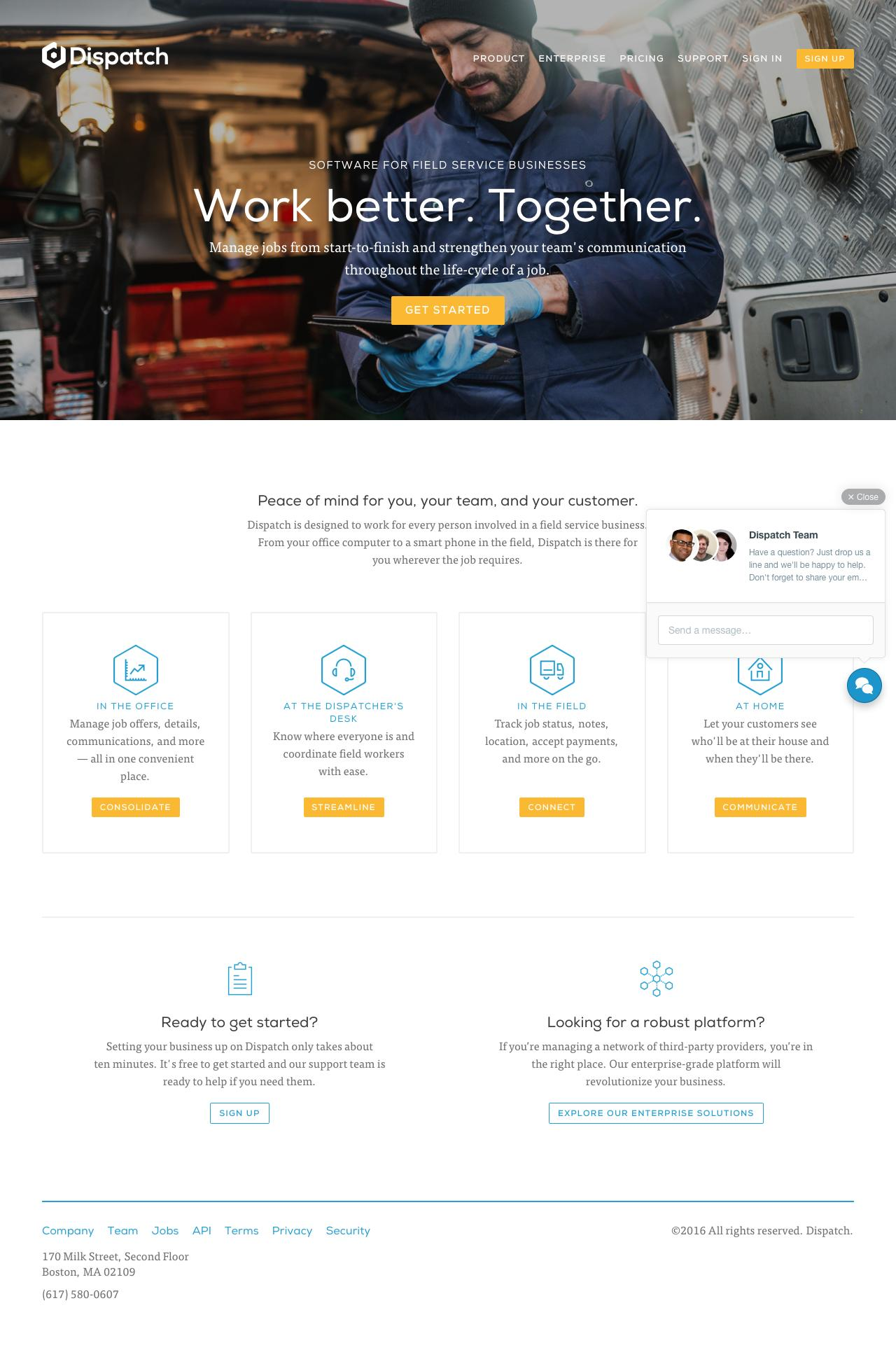 homepage a/b test