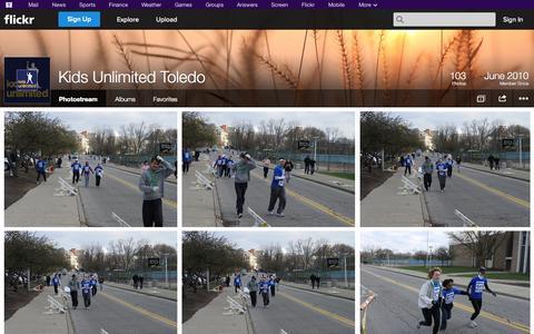 Screenshot of Flickr Page flickr.com - Flickr: Kids Unlimited Toledo's Photostream - captured Oct. 23, 2014