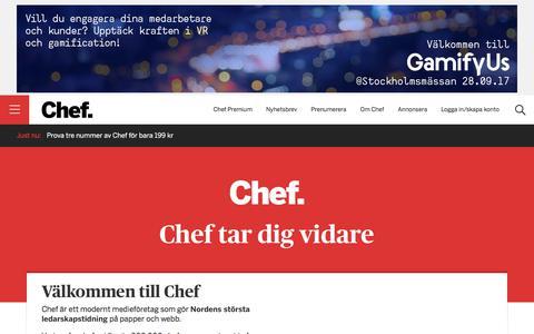 Om Chef — Chef