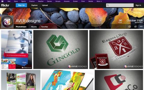 Screenshot of Flickr Page flickr.com - Flickr: AVUEdesigns' Photostream - captured Oct. 23, 2014
