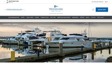 Screenshot of Press Page destinationhotels.com - Luxury Hotel in Kirkland Press Room | Woodmark Hotel - captured Oct. 28, 2017