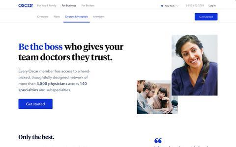 Business - Network | Oscar Health