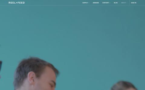 Screenshot of Team Page reelfeed.tv - Team � Reel Feed - captured Jan. 13, 2016