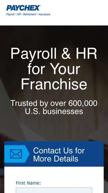 Payroll Services Exclusively for Franchisees