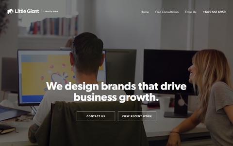 Little Giant - Branding | Brand strategy | Branding agency