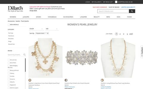 Accessories | Jewelry | Pearl Jewelry | Dillards.com