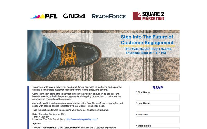 Seattle Event - The Future of Customer Engagement